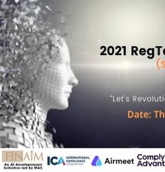 RegTech Summit 2021 artificial intelligence